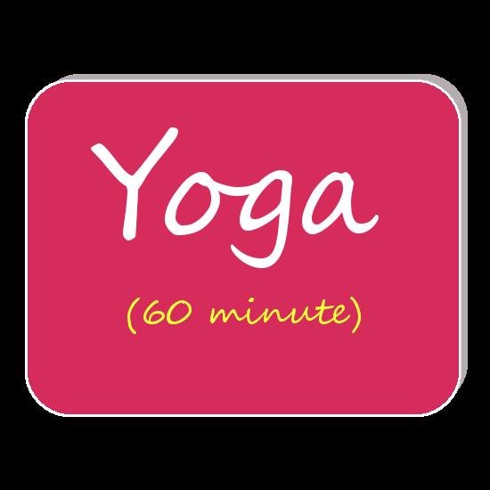 yoga 60 minute
