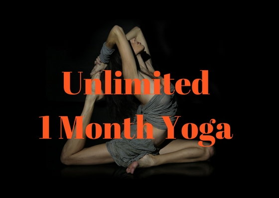 Unlimited 1 Month Yoga