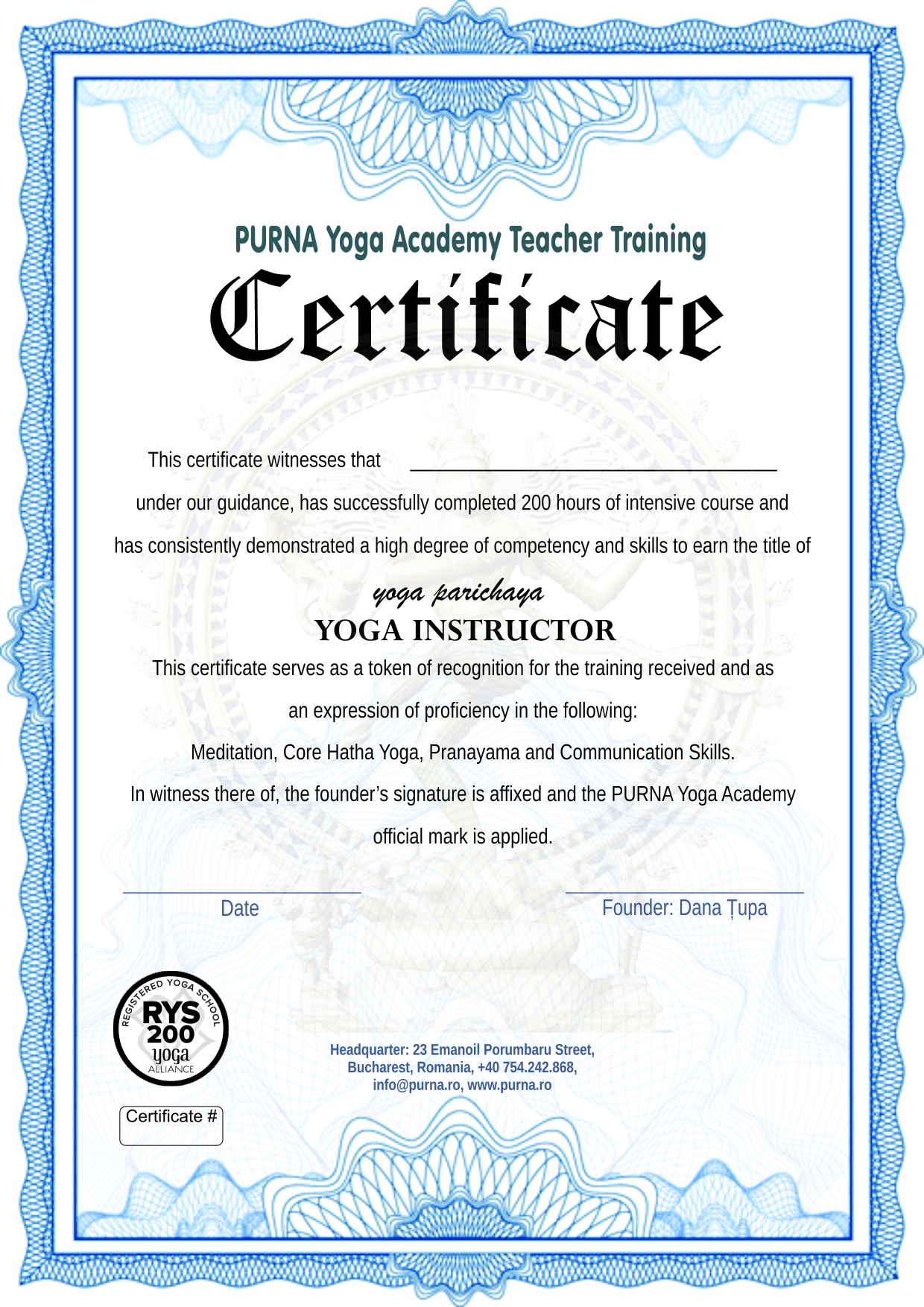 Meditation And Yoga Ttc Purna Yoga Academy
