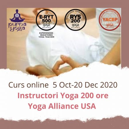 Curs instructori yoga TTC200