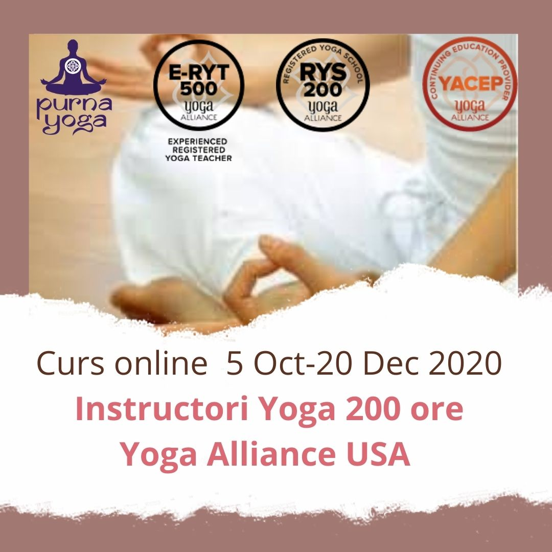 Curs instructori yoga TTC200